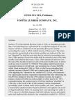 United States v. Foster Lumber Co., 429 U.S. 32 (1976)