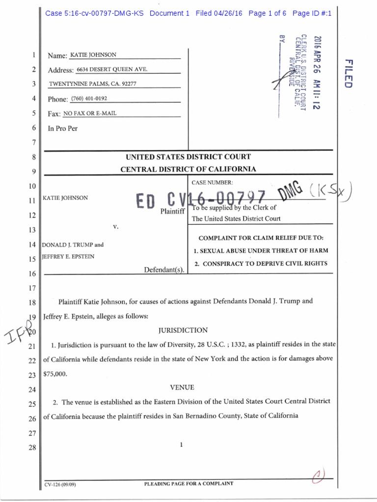 donald trump lawsuit