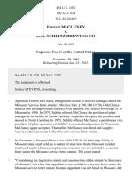Forrest McCluney v. Jos. Schlitz Brewing Co, 454 U.S. 1071 (1982)