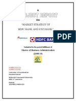 40410388 Market Strategy of Hdfc and Icici Bank