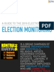 #VoteReportPH A guide to the 2016 Election Monitoring