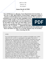 James David Autry V, 464 U.S. 1301 (1983)