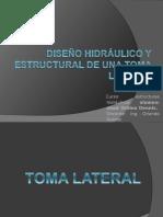 112037978 Diseno Hidraulico y Estructural de Una Toma Lateral