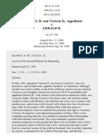 Michael H. v. Gerald D., 491 U.S. 110 (1989)