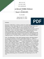 Toibb v. Radloff, 501 U.S. 157 (1991)