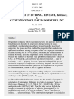 Commissioner v. Keystone Consol. Industries, Inc., 508 U.S. 152 (1993)