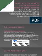 Expo Conceptos Básicos de Programación CNC