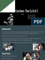 copy of michael jordan  the g o a t