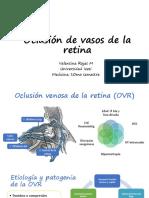 11.Oclusión de Vasos de La Retina