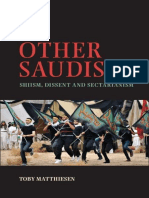 (Cambridge Middle East Studies) Toby Matthiesen-The Other Saudis_ Shiism, Dissent and Sectarianism-Cambridge University Press (2014)