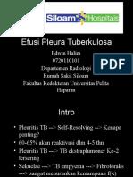 Referat Efusi Pleura TB