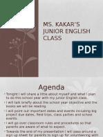 meet the teacher pp