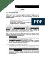 Analisis Perfil vs Sumilla