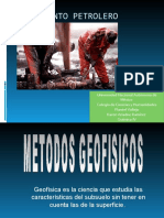 Localizacion de Yacimientos Petroliferos