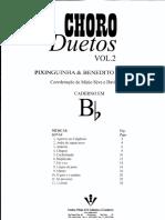 Choro Duetos - Vol 2Bb