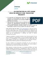 Nota de Prensa MIAW