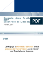 Encuesta anual de liderazgo 2007