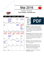 may class newsletter 2016
