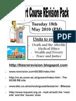 Core Revision Booklet 10