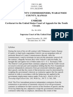 Board of Comm'rs, Wabaunsee Cty. v. Umbehr, 518 U.S. 668 (1996)