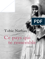 Tobie Nathan - Ce Pays Qui Te Ressemble