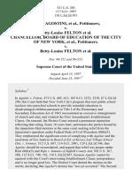 Agostini v. Felton, 521 U.S. 203 (1997)