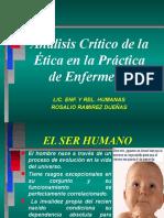 A) Analisis Critico Etica