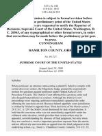 Cunningham v. Hamilton County, 527 U.S. 198 (1999)