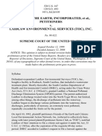 Friends of Earth v. Laidlaw Environmental Services, 528 U.S. 167 (2000)