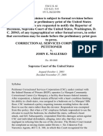 Correctional Services Corp. v. Malesko, 534 U.S. 61 (2001)