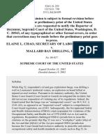 Chao v. Mallard Bay Drilling, Inc., 534 U.S. 235 (2002)