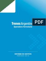 Periodo-2014 Informe de Gestión Randazzo