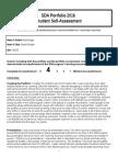2016 portfolio student self assessment