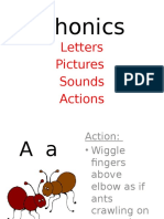 Phonics Actions Complete