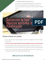 Lista Completa de Fallos Flashtools y Posibles Soluciones - Isytec