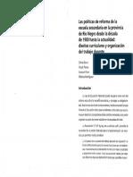 3.BARCO PENAS POSE y RODRIGUEZ - Las Politicas de Reforma de La Escuela Secundaria en La Provincia de Rio Negro Desde La Decada de 1980 Hasta La Actualidad