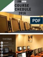Bm Course Schedule 2016