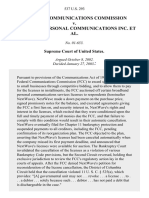 FCC v. NextWave Personal Communications Inc., 537 U.S. 293 (2003)