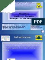 WebQuest Bolivar, Corazon Energetico de Venezuela