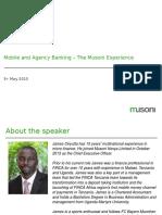 AFRACA Mobile & Agency Banking