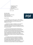 US Department of Justice Civil Rights Division - Letter - tal714