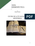 Manual de Hermenéutica