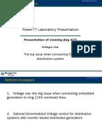 Presentation of Liuming Jing 75