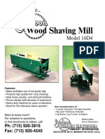 Jackson Wood Shaving Mill 16D4