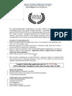 GNNA Scholarship 2016