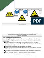 Hazardouas Chemicals Safe Work Instruction