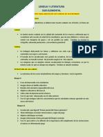 Procedimientos para abastecer los cursos de plataforma - Tercero y Cuarto Año