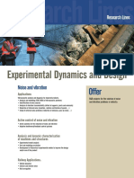Experimental Dynamics and Design