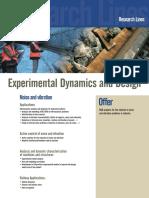 Experimental Dynamics and Design