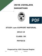 Class Xii Physics